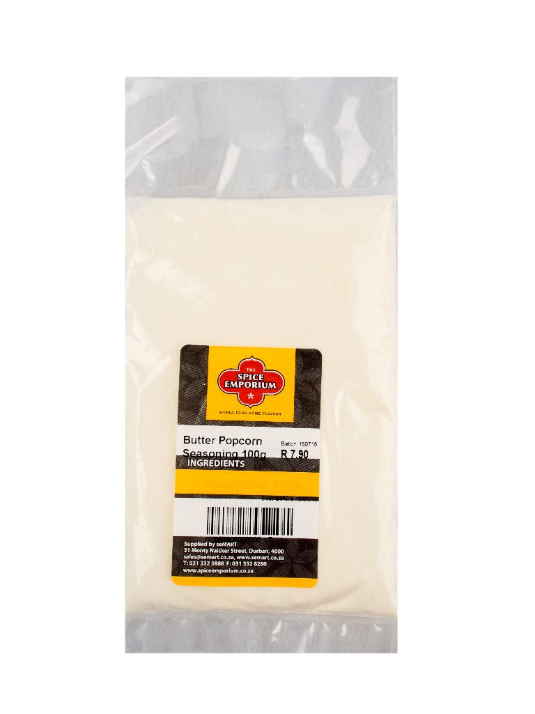 Butter Popcorn Seasoning 100g The Spice Emporium