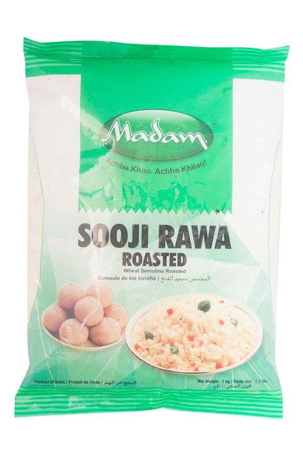 MADAM- SOOJI RAWA(India semolina-Wheat) 1kg