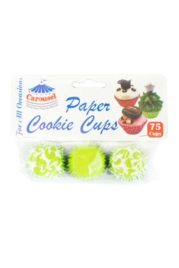 PAPER COOKIE CASES 75'S EACH