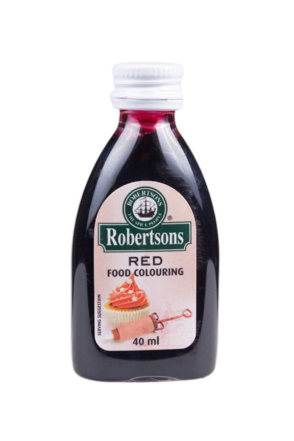 ROBERTSONS RED COLOURING 30ml/40ml