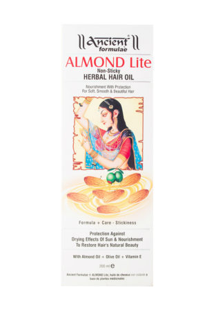 Ancient Formulae Almond Lite Herbal Hair Oil 200ml