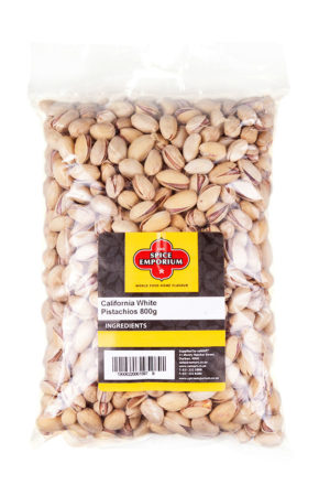 California White Pistachios 800g