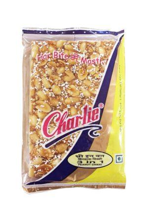 CHARLIE'S 3 IN 1 PEANUT CHIKKI 100G