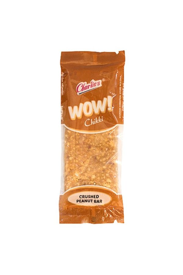 CHARLIES CRUSHED PEANUT CHIKKI 30G