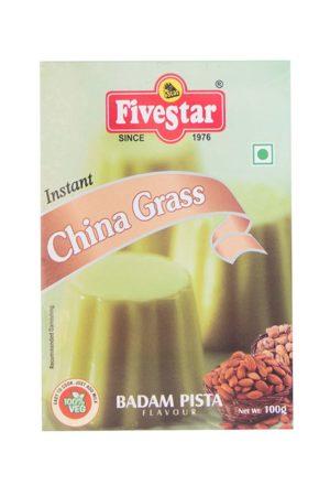 FIVESTAR INSTANT CHINA GRASS (BADAM PISTA) 80g/100g