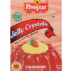 FIVESTAR VEG JELLY CRYSTALS STRAWBERRY 90g