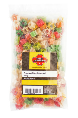 Fryums (Star) Coloured 200g