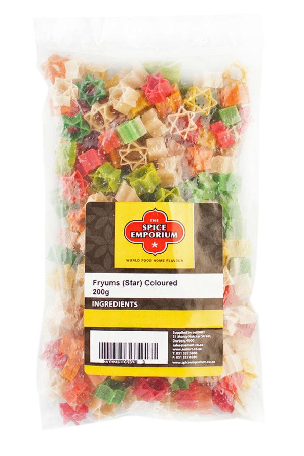 Fryums (Star) Coloured 200g
