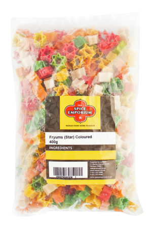 Fryums (Star) Coloured 400g