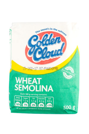Golden Cloud Semolina 500g