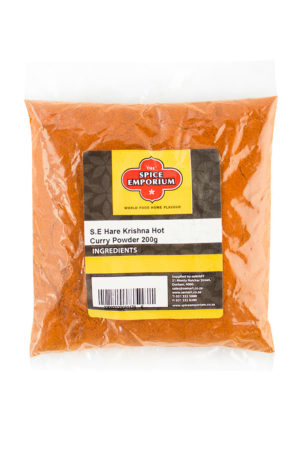 Hare Krishna Hot Curry Powder 200g