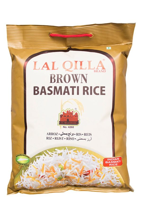 LAL QILLA - HEALTH/UNPOLISHED BROWN BASMATI RICE 5kg