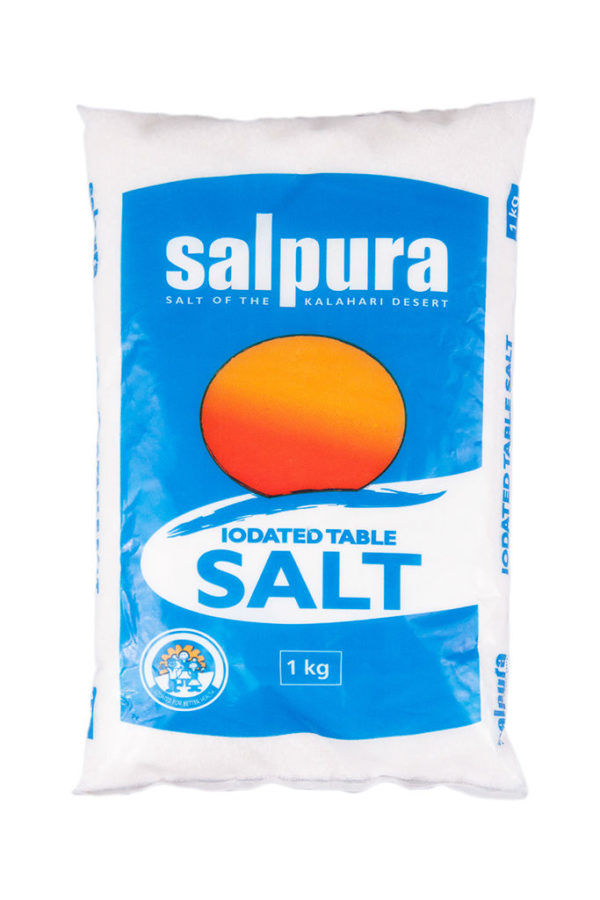 Lion/Sun/FIVE STAR Fine Salt 1kg