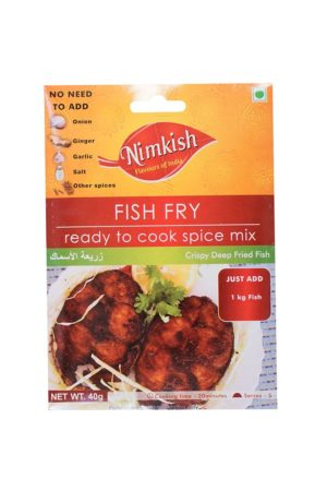 NIMKISH- FISH FRY 40G
