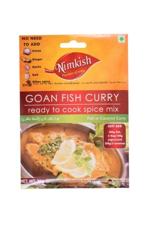 NIMKISH- GOAN FISH CURRY SPICE 30G