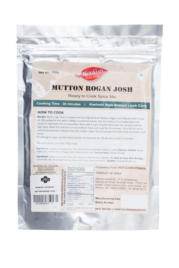 NIMKISH -CATERING - MUTTON ROGAN JOSH - 500G