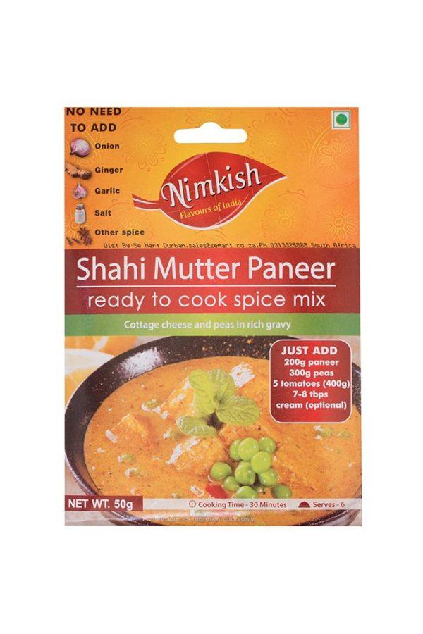 NIMKISH- SHAHI MUTTER PANEER 50G