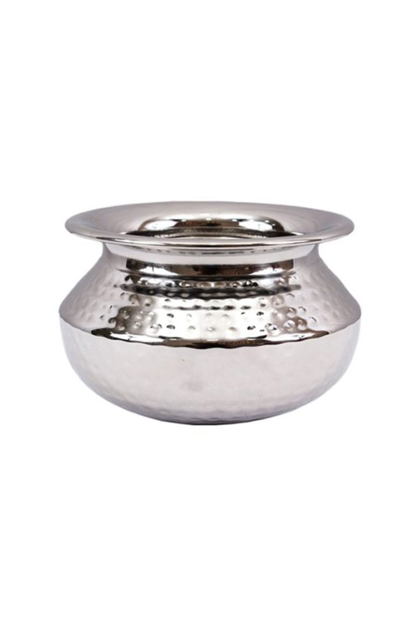 S.S PUNJABI HANDI (HAMMERED) 2 PORTION MEDIUM