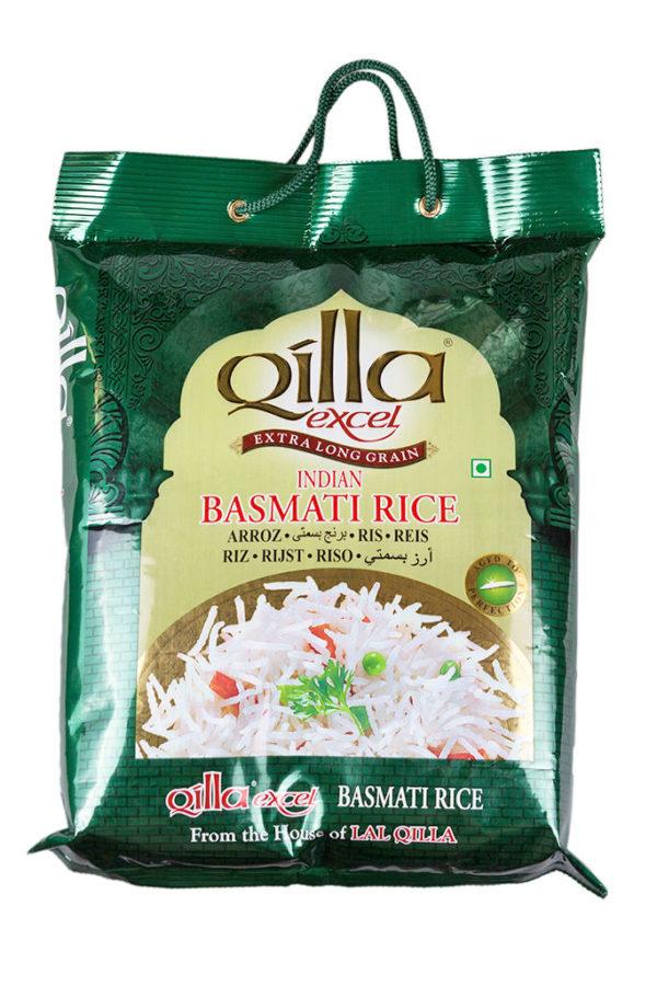 QILLA EXCEL - BASMATI WHITE RICE (GREEN BAG) 5kg