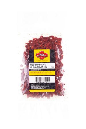 RED SHREDDED CHINA FRUIT 40g