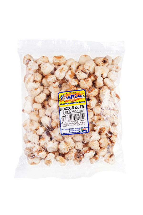 SALT & VINEGAR DOODLE NUTS 100g