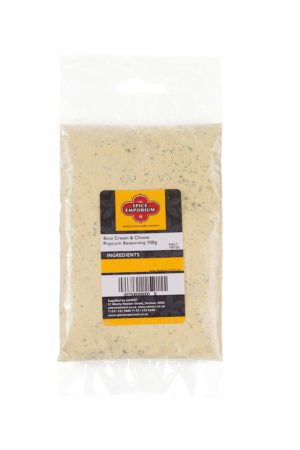 Sour Cream & Chives Popcorn Seasoning 100g