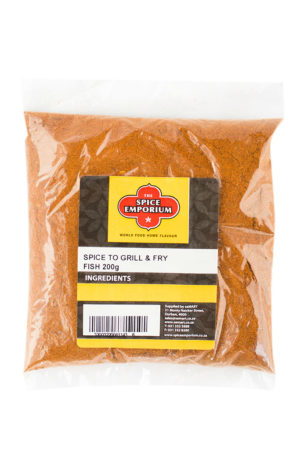SPICE TO GRILL & FRY FISH 200g