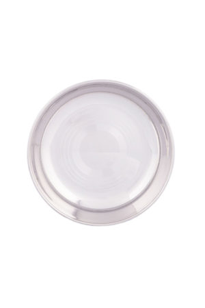 S/S Halwa Plate (Regular) 5.5""