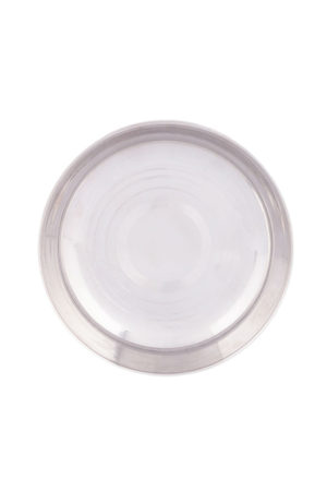 S/S Halwa Plate (Regular) 6.5""