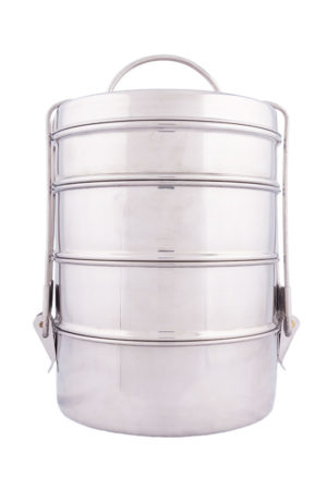 Stainless Steel Tiffin Picnic (Monalisa) 9x4
