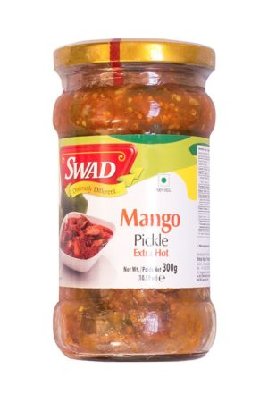 SWAD EXTRA HOT MANGO PICKLE 400g
