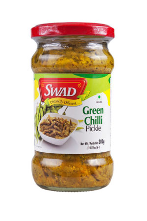 SWAD GREEN CHILLI PICKLE 300g