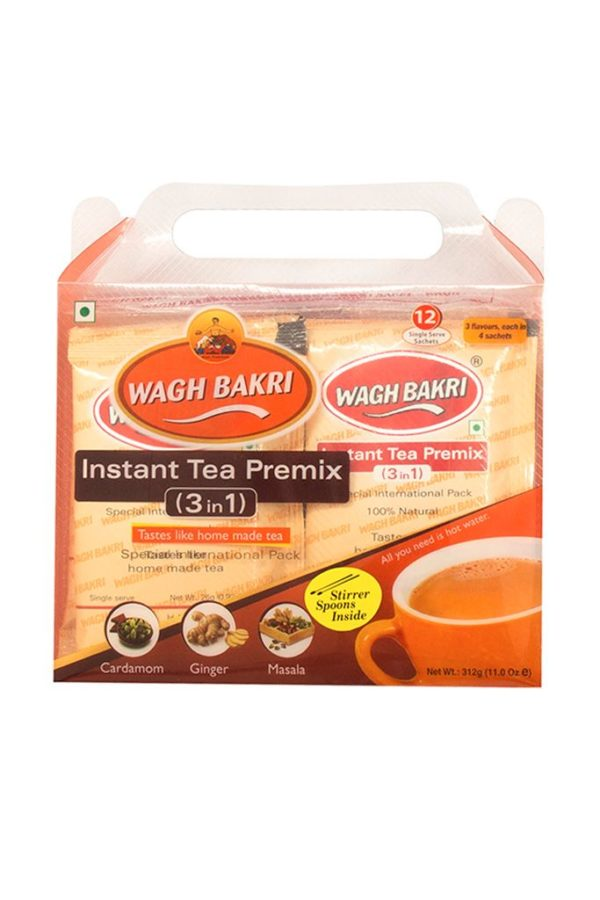 WAGH BAKRI - COMBO INSTANT TEA PREMIX 3 IN 1