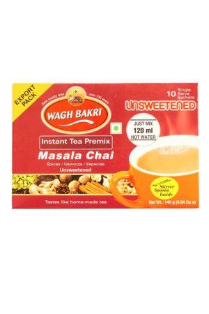 WAGH BAKRI - MASALA CHAI-UNSWEETENED 80G