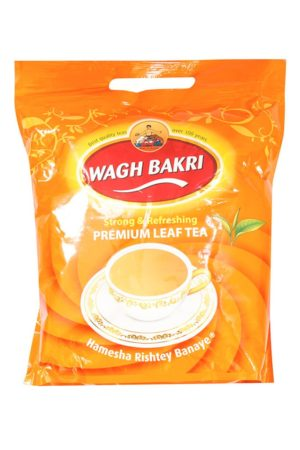 WAGH BAKRI PREMIUM INDIAN TEA ( POUCH ) 1KG