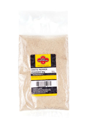WHITE PEPPER POWDER 50g