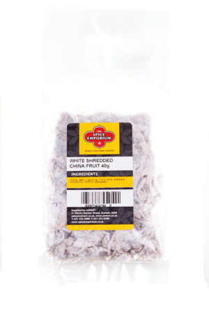 WHITE SHREDDED CHINA FRUIT 40g