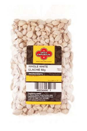 WHOLE WHITE ELACHIE 50g