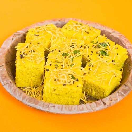 The Spice Emporium Snack Bar Khaman Dhokla