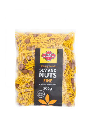 Spice Emporium Savoury Snacks Sev And Nuts Fine 200g