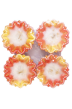 Spice Emporium Diwali Fancy-Clay-Diya-41-with-Wax