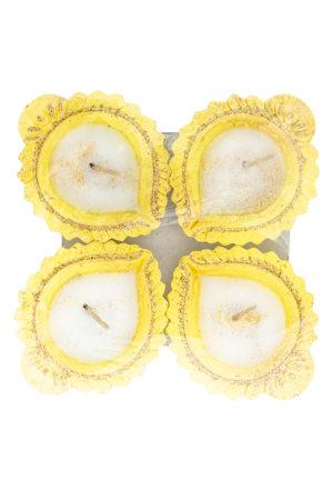 Spice Emporium Diwali Fancy-Clay-Diya-492-with-Wax