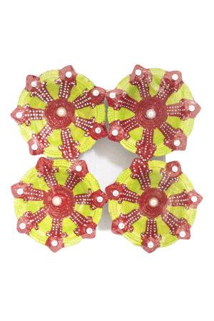 Spice Emporium Diwali Fancy-Clay-Diya-664