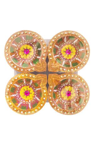 Spice Emporium Diwali Fancy-Clay-Diya-766