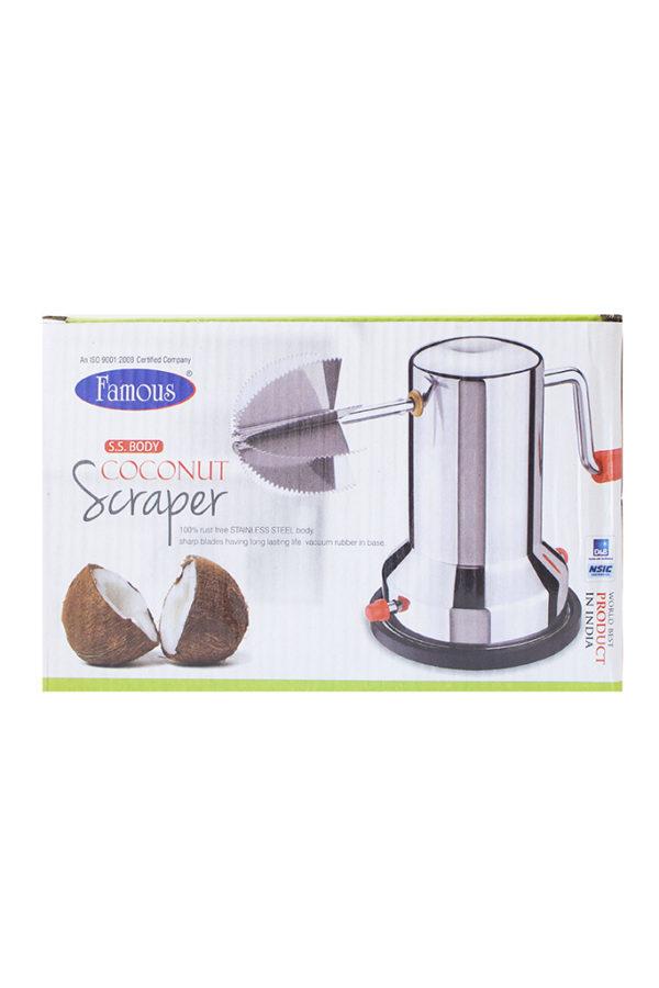SPICE_EMPORIUM__STAINLESS_STEEL_Coconut_Scraper_Vacuum_Base_1