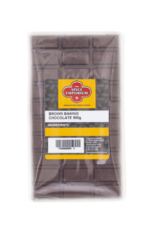 BROWN BAKING CHOCOLATE 500g