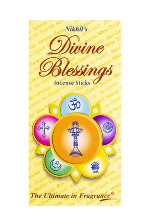 NIKHILS KRISHNA INCENSE STICKS DIVINE BLESSINGS 6S