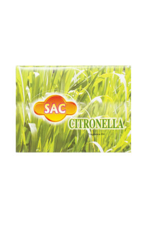 SAC CITRONELLA FRAGRANCE OIL 12x10ml