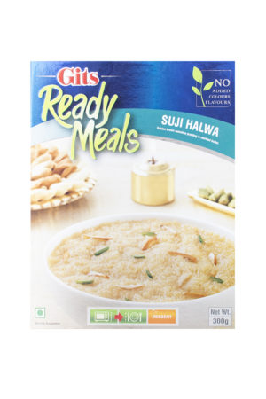 GITS RTE SUJI HALWA READY MEALS 400G