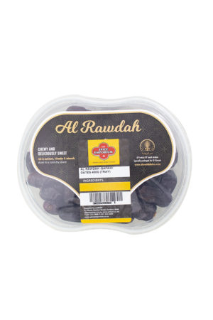 AL RAWDAH SAFAWI DATES 400G TRAY